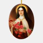 St. Thérèse of Lisieux Christmas Ornament