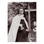 St Therese of Lisieux, The Little Flower Poster
