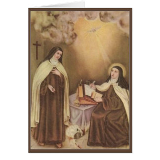 St. Therese of the Child Jesus Little Flower Card