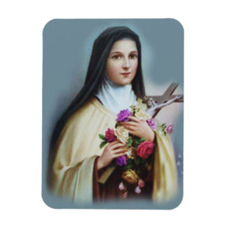 St. Therese of the Child Jesus Little Flower Magnet