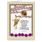 St. Therese Rosary Bouquet Card