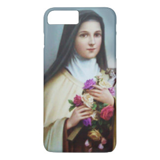 St. Therese the Little Flower Roses Crucifix iPhone 8 Plus/7 Plus Case