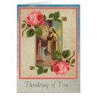 St. Therese with Children & Child Jesus Eucharist Card
