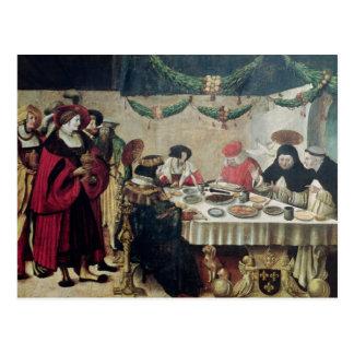 St. Thomas Aquinas  and Louis IX Postcard