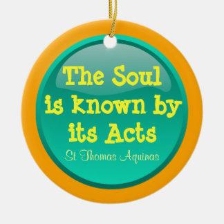 St Thomas Aquinas ornament