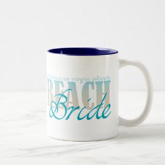 St Thomas Beach Bride Coffee Mug