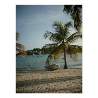 St. Thomas Beach Poster
