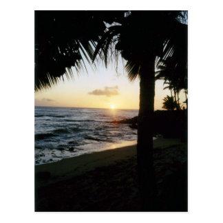 St. Thomas Beach Sunset Postcard