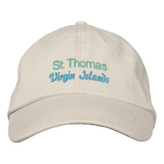 ST. THOMAS cap Embroidered Hats