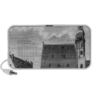 St. Thomas Church and School in Leipzig, 1723 Travelling Speakers