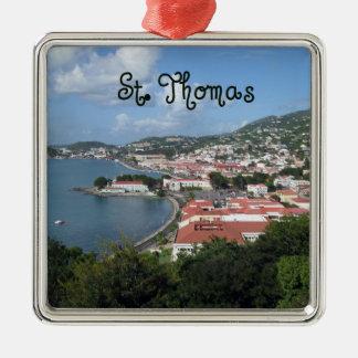St. Thomas Metal Ornament