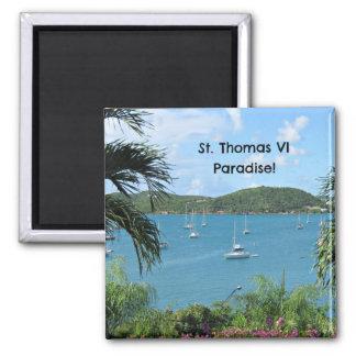 St. Thomas, Paradise! Magnet