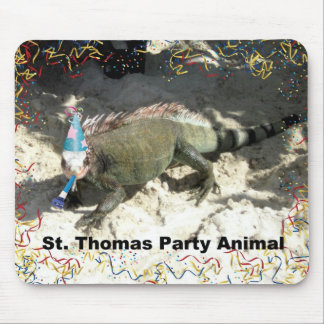 St. Thomas Party Animal! Mouse Pad