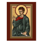 St. Thomas Prayer Card Postcard