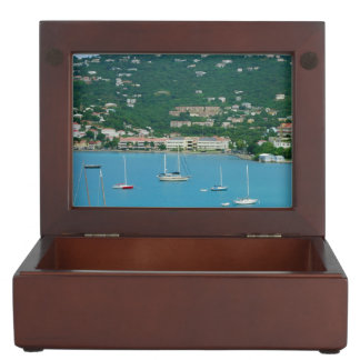 St. Thomas Sailboats Keepsake Boxes