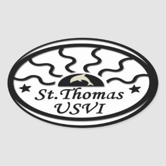 St Thomas Sticker