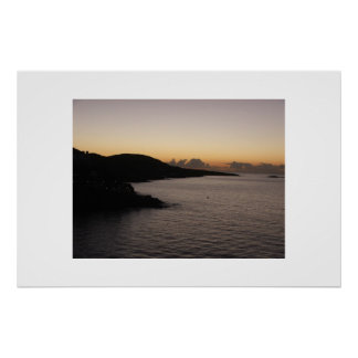 St. Thomas Sunrise Poster