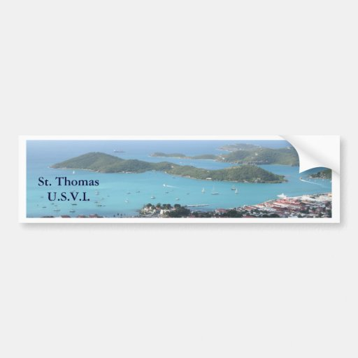 St. Thomas U.S.V.I. Bumper Sticker