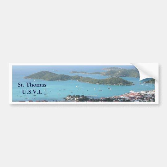 St. Thomas U.S.V.I. Bumper Sticker