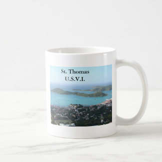 St. Thomas U.S.V.I. Classic White Coffee Mug