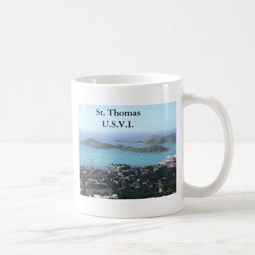 St. Thomas U.S.V.I. Mugs