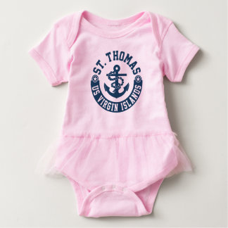 St. Thomas US. Virgin Islands Baby Bodysuit