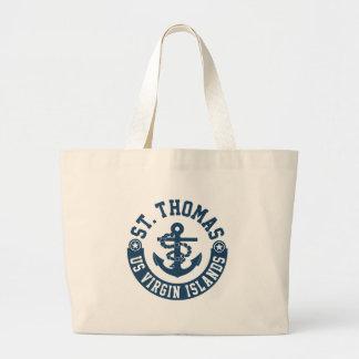St. Thomas US. Virgin Islands Large Tote Bag
