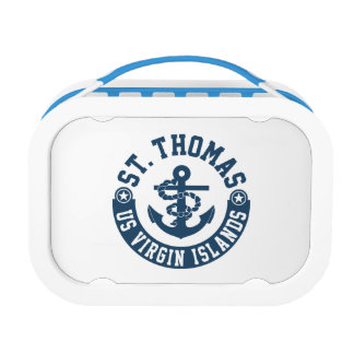 St. Thomas US. Virgin Islands Lunch Boxes