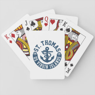 St. Thomas US. Virgin Islands Playing Cards