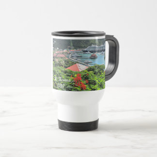 St. Thomas USVI Travel Mug