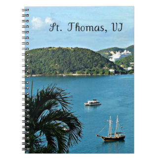 St. Thomas, VI Spiral Notebook