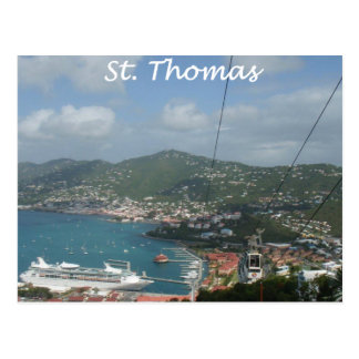 St Thomas View Postcard