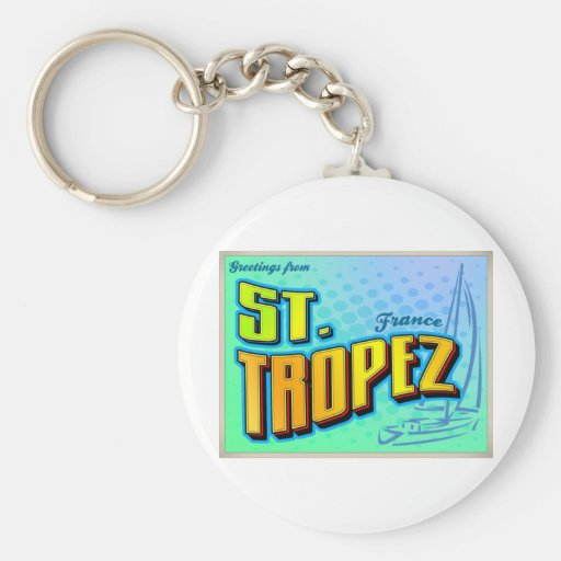 ST. TROPEZ KEYCHAINS
