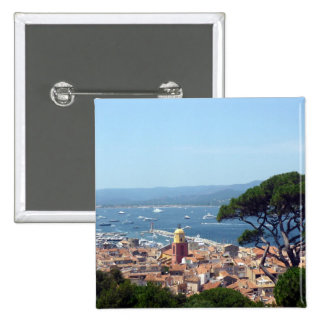 st tropez view 2 inch square button