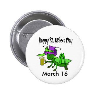 St. Urho's Day Button