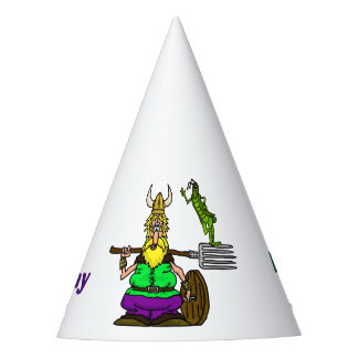 St. Urho's Day Party Hat   Peace Grasshopper