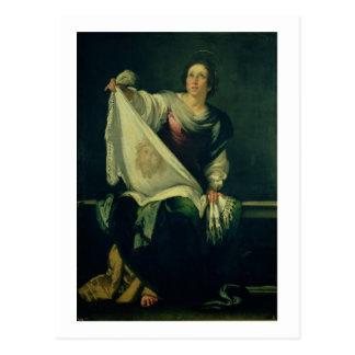 St. Veronica, 1625-30 (oil on canvas) Postcard