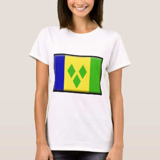 St. Vincent and the Grenadines Flag T-Shirt