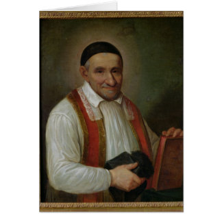 St. Vincent de Paul  1649 Card