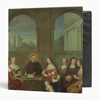 St. Vincent de Paul and the Sisters of Charity Vinyl Binders