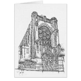 St Vincent Ferrer |  New York Card