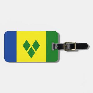 St. Vincent Flag Bag Tag