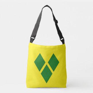St. Vincent Flag Crossbody Bag