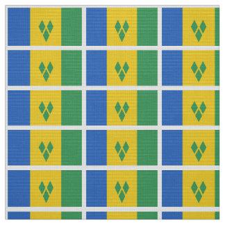 ST. Vincent Flag Fabric