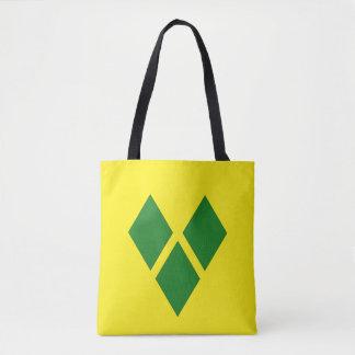 St. Vincent Flag Tote Bag