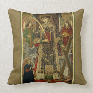 St. Vincent Saragossa Deacon-Martyr Pillow