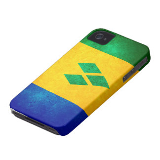 St. Vincent & the Grenadines Flag iPhone 4 Covers