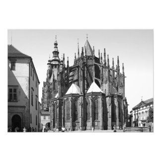 St. Vitus Cathedral. Photo Print
