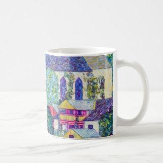 St. Wolfgang Church by Gustav Klimt, Victorian Art Coffee Mug
