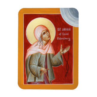 St Xenia of St Petersburg Magnet